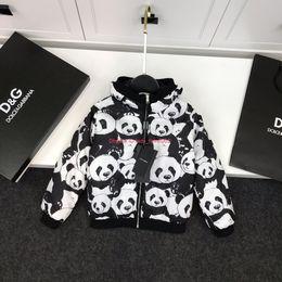 $enCountryForm.capitalKeyWord Australia - Children jacket kids designer clothing autumn and winter light cotton coat jacket cute panda element coat male girl calendered lined jacket
