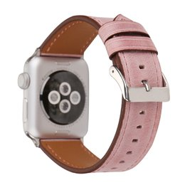 band straps Australia - Good Colorful Fashion Leather Watch Band for Apple Watch 1 2 3 4 5 Sport Strap for Apple Iwatch 38mm 40mm 42mm 44mm Band Accessories