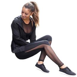 $enCountryForm.capitalKeyWord NZ - Fitness Yoga Sports Leggings For Women Sports Tight Mesh Yoga Leggings Pants Women Running Pants Tights for