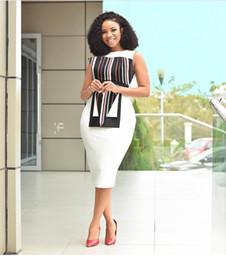 $enCountryForm.capitalKeyWord NZ - Designer African lady organ print stitching sexy bag hip dress fashion explosion female