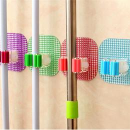 $enCountryForm.capitalKeyWord Australia - 1Pc Practial Kitchen Wall Mounted Mop Rack Bathroom Storage Mop Broom