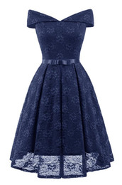 $enCountryForm.capitalKeyWord NZ - Women Bow Swing Sexy Club Night Dresses Slash Neck Polyester 5 Size Backless Summer Ball Gown Adult Eveving Wear Clothing With Sashes