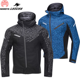 motorcycle riding jackets NZ - 2020 New Motorcycle Jacket Men Spring Summer Riding Motocross Racing Jacket Moto waterproof reflective Motorbike Clothing