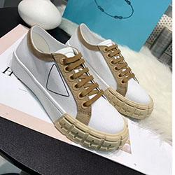 spring fall canvas shoes Australia - 2020 spring fall summer womens white canvas Fabric lace up Trainers Casual Shoes flat platform Rubber low top sneakers E010111