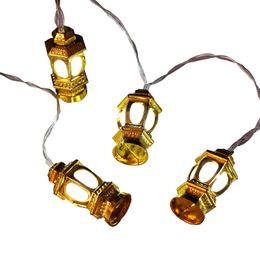 $enCountryForm.capitalKeyWord Australia - LED Lantern String Eid Mubarak Ramadan LED Lamp Strand Star Moon Decorative Lights Gold Party Small Gifts 13 96jd C1