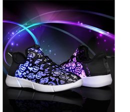 1ce910cd 7 Fotos Compra Online Cargando los zapatos-Los 2019 nuevos zapatos ligeros  forman a los niños luminosos