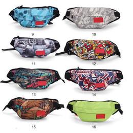Wholesale 2018 new tide Desinger Waist Bag Brand Bags Waistpacks Bags Women Men Sport Outdoor Packs Cycling Bag Totes Classic Zipper Bags 26 Styles