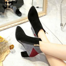 $enCountryForm.capitalKeyWord NZ - fashion Ankle winter women Boots 2 style casual Comfortable Boots zipper High Heels Women Boots shoes women pumpsyhj89