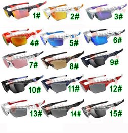 $enCountryForm.capitalKeyWord Australia - summer new Brand design man SPORT sunglasses 15colors woman cycling glasses outdoor driving sunglasses Dazzle colour glasses free shipping
