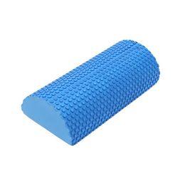 Floating Blocks Australia - Sport Fitness Gym Exercise Blocks With Massage Floating Point Half Round Eva Roller Foam Roll Yoga Pilates C19040401