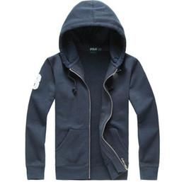 $enCountryForm.capitalKeyWord Australia - FREE SHIP Top Quality robin men's Ralph polo long-sleeved casual hoodies coat Autumn Winter Zipper fleece sweater jackets polo COAT