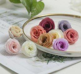 White Rose Arrangements Australia - Simulated Camellia Wedding Arrangement Rose Bride Hand Flower Breast Flower Making Flower Rose WL149
