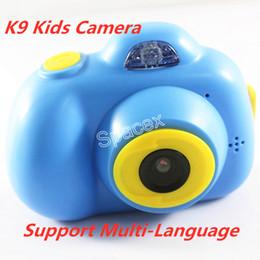 $enCountryForm.capitalKeyWord Australia - Support Multi-Language K9 Kids Camera Mini Digital Kids 2 Inch Hd Screen Anti-Shake Camcorder Children Gifts Best Birthday Gift