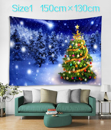 Bedroom wall tapestry online shopping - Christmas Decoration Background Cloth Hanging Wall Cloth Christmas Style Tapestry Room Girl Bedroom Decoration Cloth Bedroom Decoration Clot