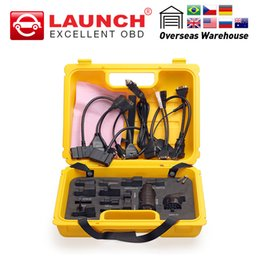 Software Repair Box Australia - Launch X431 Diagun IV yellow case with full set cables and adapters Yellow box for x-431 Diagun IV easydiag Midiag connector