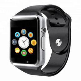 $enCountryForm.capitalKeyWord Australia - Bluetooth Phone Man Smart Watch A1 Wearable Women Watches Mobile with Camera for Android Smartphone Smartwatch
