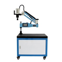 $enCountryForm.capitalKeyWord Canada - CE 220V M3-M32 Universal Type Electric Tapping Machine Electric Tapper Tool Machine-working Taps Threading Machine with Chucks
