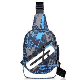 Single Shoulder Strap Packs Australia - 2019 Men Crossbody Bags New Fashion Messenger Chest Bag Pack Casual Sports Waterproof Oxford Bag Single Shoulder Strap Pack
