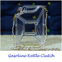 $enCountryForm.capitalKeyWord NZ - Designer- Brand Evening Bags Perfume Handbag Acrylic Gasoline Kettle Clutch Purse Bottle Bag Premium CC Messenger Strap Chain Shoulder Bag
