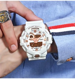 $enCountryForm.capitalKeyWord Australia - Luxury SANDA Brand Sport Men's Watches Military LED Digital Sport Watch Men Waterproof Fashion Rubber Strap Wristwatches 770 G Style Shock
