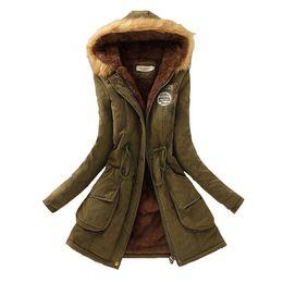 $enCountryForm.capitalKeyWord Australia - Winter Women Coat 2017 Parka Casual Outwear Military Hooded Coat Woman Clothes Fur Coats female Winter Jacket Women CC001