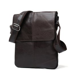 f6e3bfea49cd Luxury Original Vintage Men Genuine Leather Shoulder Bag Men Messenger Bag  Male Travel Bags Leather Crossbody Bags for