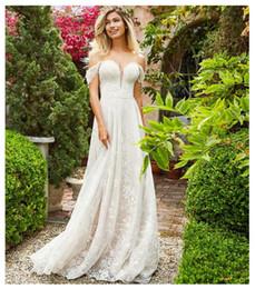 $enCountryForm.capitalKeyWord Australia - 2019 Sexy Off The Shoulder Lace Appliques Wedding Dress Backless Elegant Bride Dress Sexy Backless White Ivory Wedding Gown Custom Made