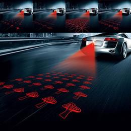 $enCountryForm.capitalKeyWord Australia - Universal LED Car Motorcycle Laser Fog Light Anti Collision Tail Lamp Auto Moto Braking Parking Signal Warning Lamps free shipping