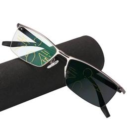 e9ae7e087 Multifocais Progressivas Multifocus Óculos de Leitura Transição Óculos De  Sol Dos Homens Óculos Hipermetropia Presbiopia