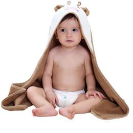 Baby Boys Girls Cape Cloak Towelsborn Cotton Bath Towel Infant Soft Cartoon Hooded  Towel Wrap Blanket Sleepsackest 6d8502d45