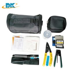 Optical fiber tOOls online shopping - 8 in Fiber Optic FTTH Tool Kit with FC S Fiber Cleaver Optical Power Meter km FC High Precision Cleaver
