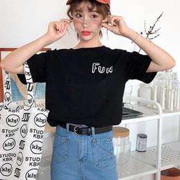 Korean Floral Shirt Wholesale Australia - New Korean Style Flower Printed Short Sleeve Tshirt Women Summer Small Fresh Loose Casual T Shirt Harajuku Tops J1