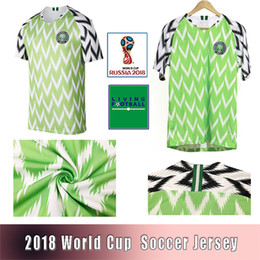 Cheap soCCer jerseys online shopping - Cheap JERSEY World Cup MIKEL Soccer Jerseys Ahmed Musa Customizable football suit Adult shirt