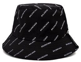 Опт 2019 открытый ковш шляпы для мужчин и женщин роскошный дизайн рыбацкая шапка кемпинг охота Chapeau bob ведро шляпа париж лето солнце пляж рыболовная шапка