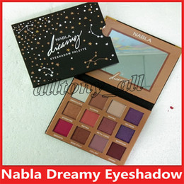 dream cosmetics NZ - New NABLA Dreaming 12colors Eyeshadow Palette Shimmer Matte Eye Shadow Make up Cosmetics High quality DHL shipping