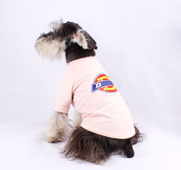 t sunglasses Australia - Pet clothes European and American Casual Short Sleeve personality dog cotton T-shirt