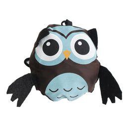 foldable cute eco bag 2019 - New Foldable Cute Animal Owl Shopp Bag Eco Friendly Reusable Tote Bag Portable Travel Shoulder load bearing 10 to 15kg c