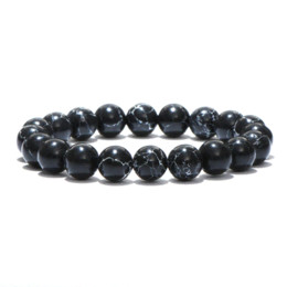 Tiger Eye Buddha Beads Australia - Noter Minimalist Natural Stone Beads Buddha Bracelet Brown Tiger Eyes Yoga Meditation Braclet For Men Women Hand Jewelry Homme