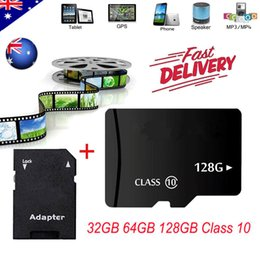 32gb Micro Tablet NZ - 50 Pack Class 10 Micro SD Card 4GB-128GB TF Flash Memory Card for Tablet PC Smartphone Camera GPS Speaker Monitoring equipment Drone