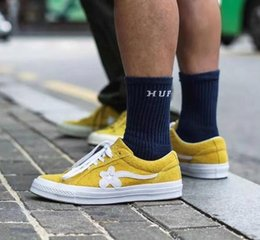 $enCountryForm.capitalKeyWord Australia - Hot sale Men Women Tyler The Creator x One Star Ox Golf Le Fleur Fashion Designer Sneakers TTC Casual Shoes for Skateboarding Sport Shoes