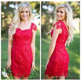 32a80f34bf Off Shoulder Lace Sheath Short Mini Bridesmaids Dresses 2019 Slim Formal  Spring Vestidos De Honor Of Maid Cheap Junior Bridesmaids Gowns