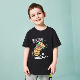 $enCountryForm.capitalKeyWord Australia - Balabala Cotton Panelled Printing Pattern Autumn T Shirts Short Sleeve T-shirt For Boys Toddler Kid Cartoon Tshirts J190529