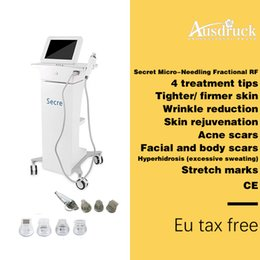 Lifting thermage machine online shopping - EU TAX FREE fractional rf microneedle Micro needle Skin Tightening Anti Wrinkle Radio Frequency thermage machine pins pins pins