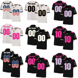 $enCountryForm.capitalKeyWord NZ - Custom UCF Knights College Football Mckenzie Milton SM Griffin Noah Vedral NCAA Customize Fashion Clothes University Football Uniform Jersey