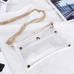 Jelly crossbody bags online shopping - Women Clear PVC Crossbody Chain Jelly Bag Clutch Messenger Shoulder Hand Bags Phone Purse Handbags Evening Party Transparent Bag