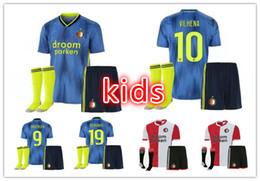 $enCountryForm.capitalKeyWord Australia - kids kits 2019 2020 Feyenoord soccer jerseys uniforms 19 20 LARSSON V.PERSIE VILHENA BERGHUIS JORGENSEN home away football jersey shirts