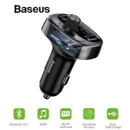 $enCountryForm.capitalKeyWord Australia - Car Charger Fm Transmitter Aux Modulator Bluetooth Handsfree Car Audio Mp3 Player 3.4a Fast Dual Usb Mobile Phone Charger