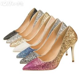 $enCountryForm.capitalKeyWord Australia - 2019 Brand Sexy shoes Woman Summer Buckle Strap Rivet Sandals High-heeled shoes Pointed toe Fashion fashion Single JC sparkling High heel