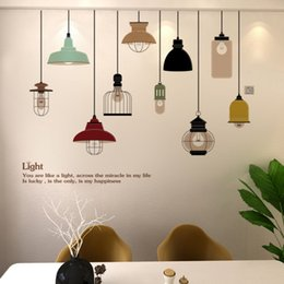 wine room chandeliers NZ - New product hot sale explosion creative red wine bottle environmental PVC wall stickers removable living room bedroom creative chandelier