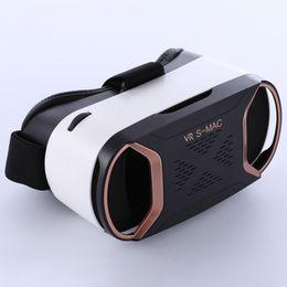 $enCountryForm.capitalKeyWord Australia - VR Glasses S-MAC Virtual Reality 3D Glasses VrBOX Anti-Blu-ray Glass Green Lens For SmartPhones For Iphone X 7 8 VR